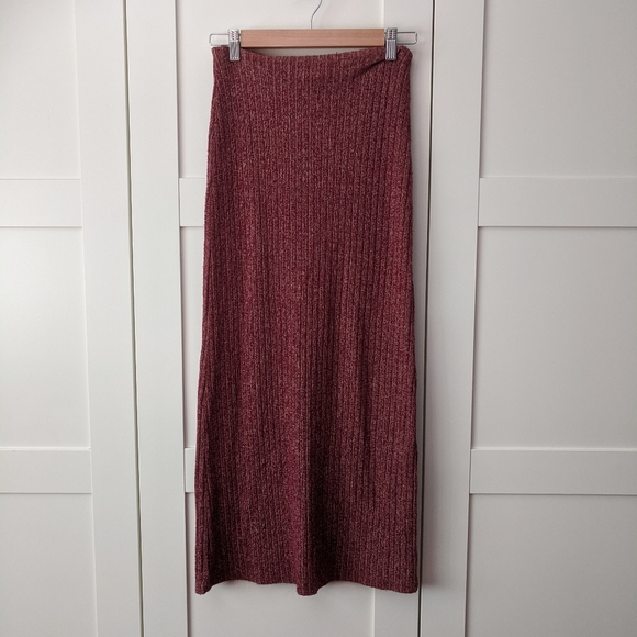 Unlisted Dresses & Skirts - 3/$25 Knit Ribbed Maxi Skirt